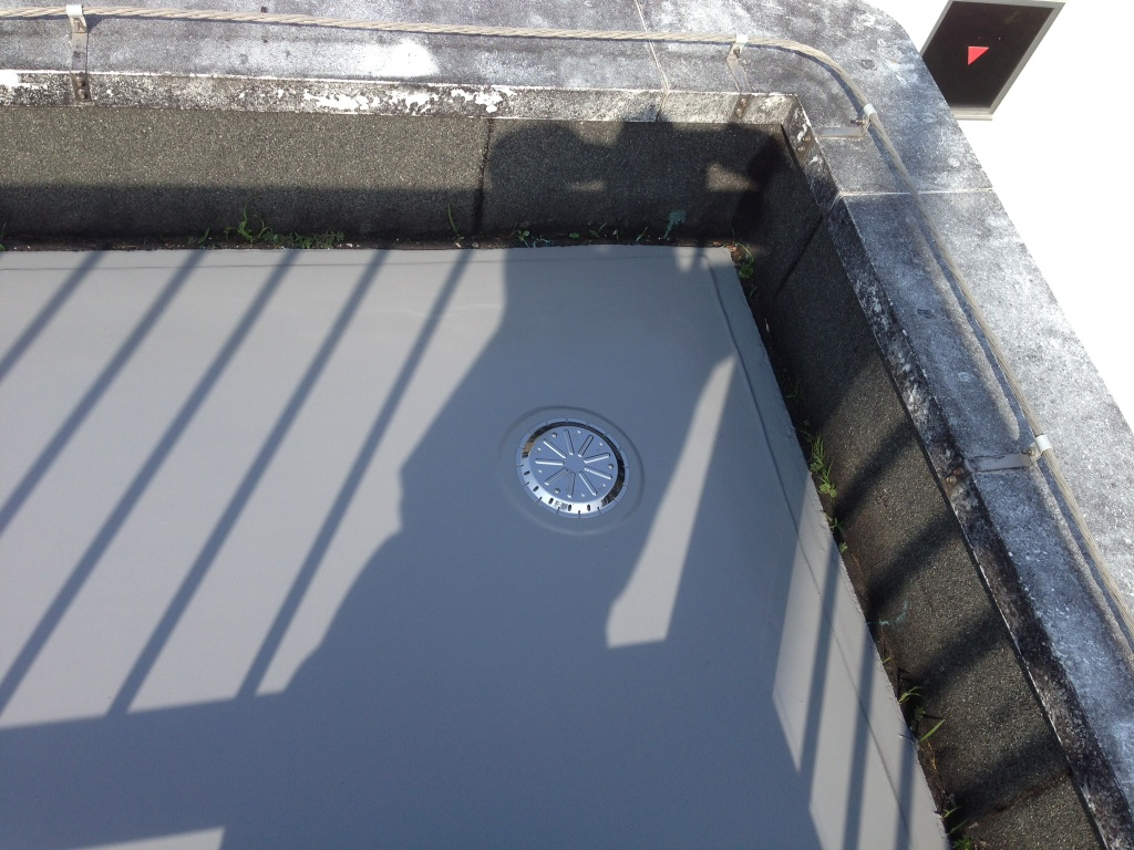 屋上防水工事 ウレタン通気絶縁防水実例7